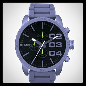 Diesel◾Double Down Chronograph Watch NWTB